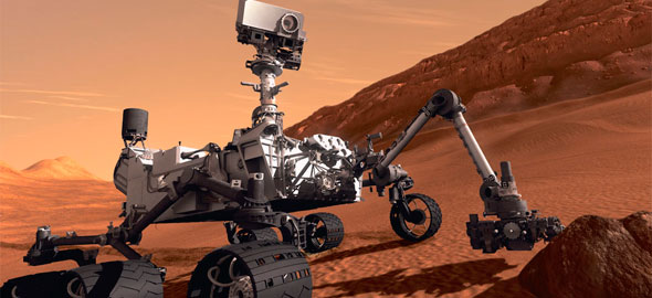 Curiositys finds possible trazes of organic life on Mars